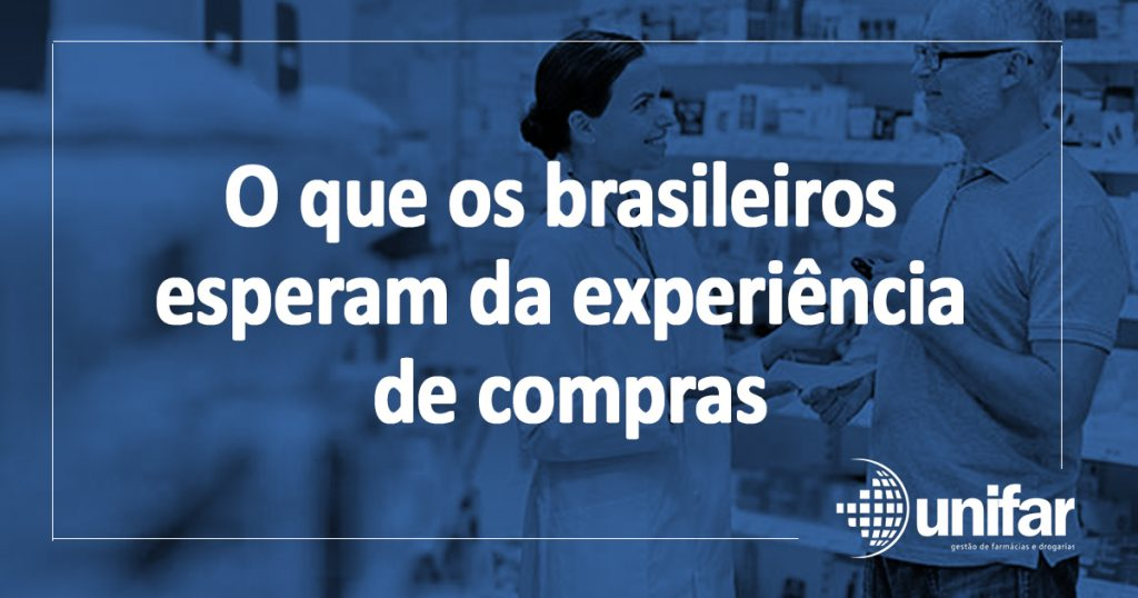 Pesquisa aponta o que os brasileiros esperam da experiência de compras