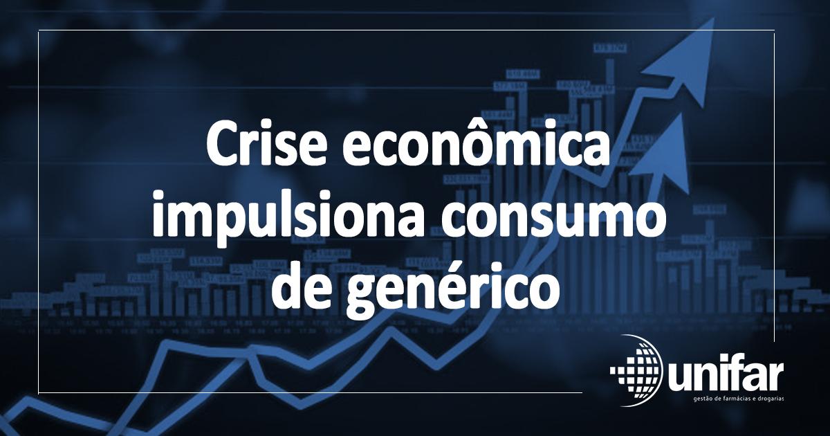 Crise econômica impulsiona consumo de genérico