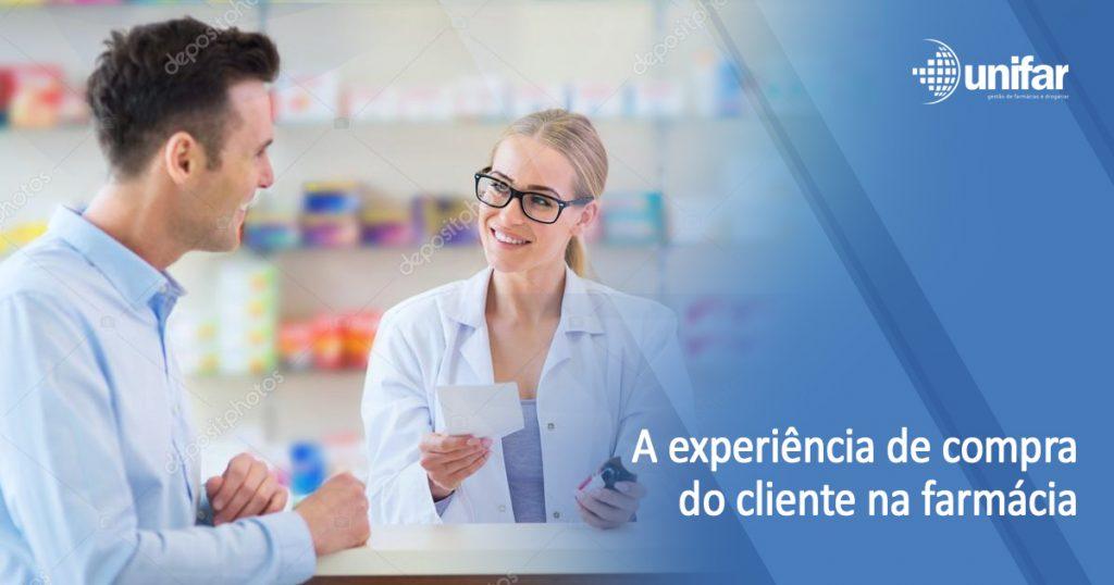 O bom atendimento realmente influencia a experiência de compra do cliente na farmácia